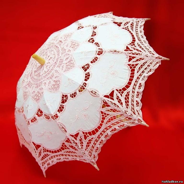 """Зонт """"Венецианское кружево"""" 84 см"""